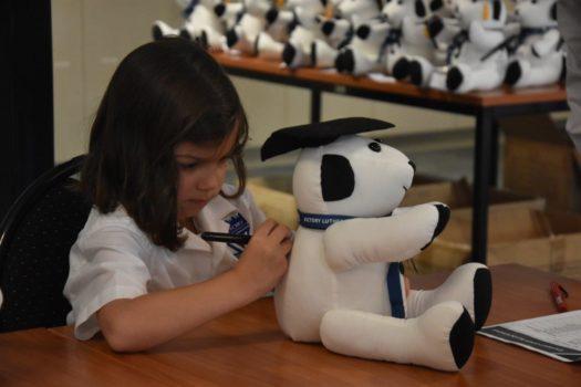 T4 Foundation Teddy Bear Signing 6