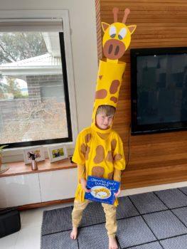 Austin As Gerald Giraffe