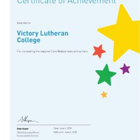 Core Module Certification Certificate 2021