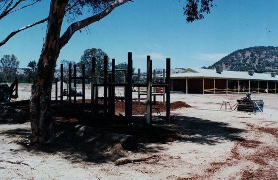 History 1991 Building Playground