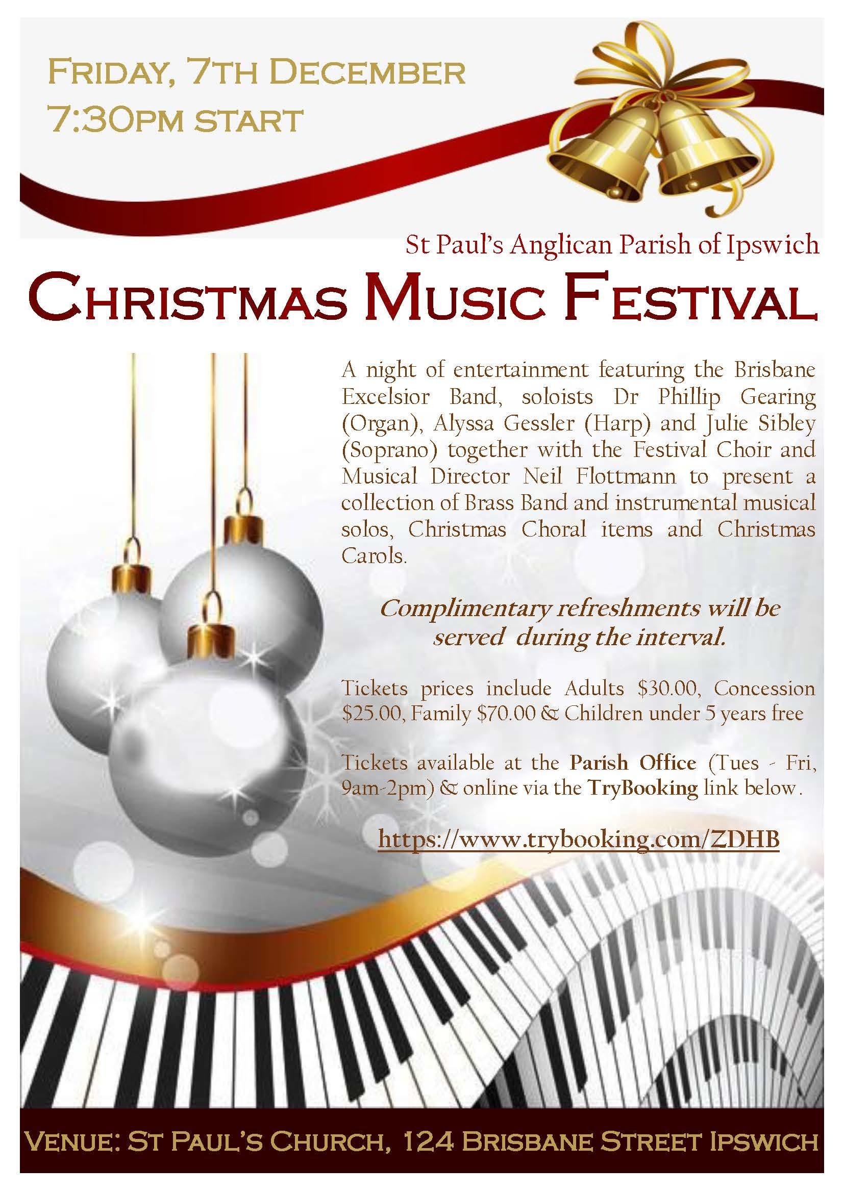 St Paul's Christmas Music Festival
