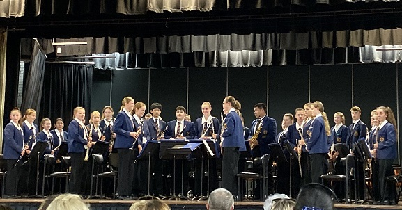 WestMAC's middle school performance band