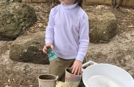 Gumboot Cleaning