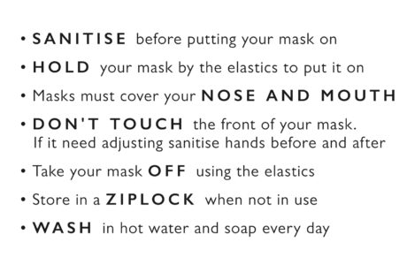 Mask Steps