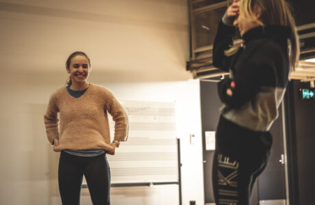 The Crucible Rehearsals