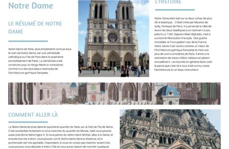 Notre Dame Lyla Aoife And Lou Lou 1