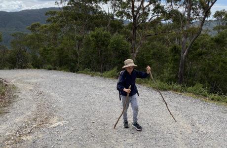 Hiking Mt Oberon