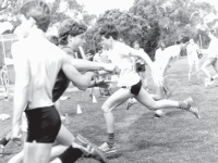 Athletics on the old oval