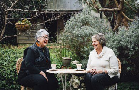 Anne Bould (L) and Pam Julicher (R)